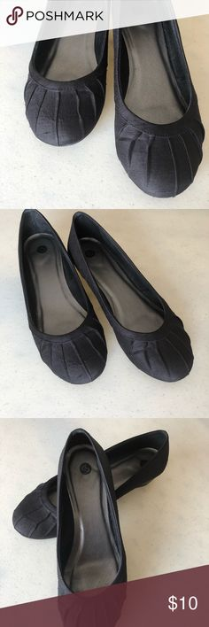 Just Arrived ❗️ Black Wedges Black Wedges  ❗️ Pre Loved ❗️Signs of wear pictures. Please review all pictures. size 8 ❗️ Bundle and Save ❗️ Reasonable Offers Welcomed Shoes