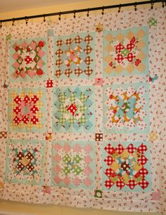Sewn With Grace-Great Granny Quilt The Great Granny Along/Bee in My Bonnet