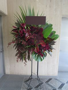 FUGAでは、和・洋・モダンなど様々な雰囲気でアレンジメント、スタンド花、ボックスギフトをオーダーメイドで対応する。 Home Flowers, Church Flowers, Home Flower Arrangements, Corporate Flowers, Flora Design, Flower Stands, Kirchen, Floral Bouquets, Flower Decorations