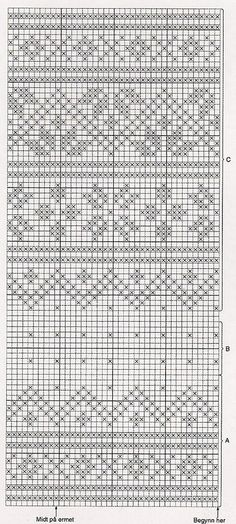"Вязание. Жаккард - ""Зимняя радуга"" 