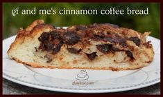 Unfussy to make, this gluten free raisin bread or cinnamon coffee bread is full of raisins and spices. Be extra decadent and drizzle it with a cream cheese icing! Gluten Free Desserts, Gluten Free Recipes, Bread Recipes, Coffee Bread, Cinnamon Coffee, Raisin Bread, Banana Bread, Cream Cheese Icing, Sweet Bread