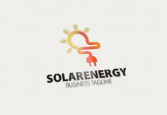 Solar Energy Logo by eSSeGraphic on Creative Market