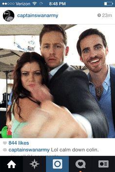 Emily, Josh, an Colin comiccon 2014