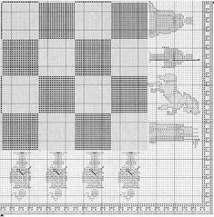 tengo muchos patrones de punto de cruz. (pág. 41) | Aprender manualidades es facilisimo.com Cross Stitch Games, Cross Stitch Bookmarks, Cross Stitch Charts, Cross Stitch Designs, Cross Stitch Patterns, Bead Patterns, Cross Stitching, Cross Stitch Embroidery, Embroidery Patterns