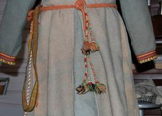Reconstruction of the Skoldehamn clothing at the Lofotr Museum - Outer Skirt