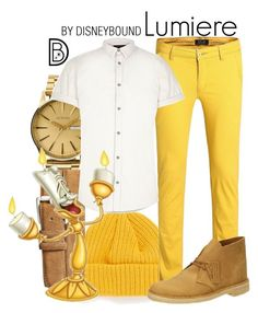 """""""Lumiere"""" by leslieakay ❤ liked on Polyvore featuring Nixon, Topman, Torino, River Island, Lumière, Clarks, mens, men, men's wear and mens wear"""
