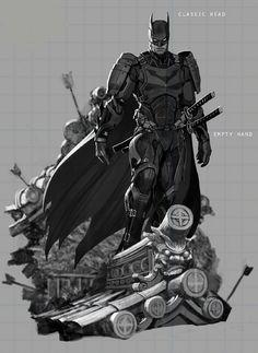 XM Studios Batman in Samurai Style - Titan WorkshopTitan Workshop