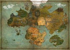 Beautifully crafted map