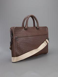 BOTTEGA VENETA - woven briefcase 9