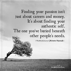Finding Your Passion Isn't Just About