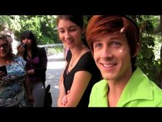 Peter Pan In Disneyland -this is like the most amazing thing ever. He has the character down pat. Now I wanna go just to watch people play characters XD