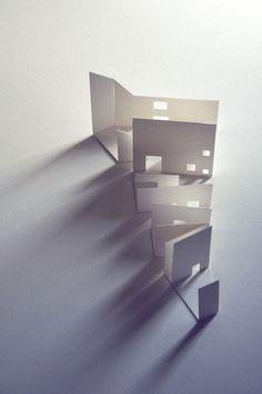 Paper Model Light Study