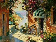 Provence Bicycle ~ Marilyn Simandle