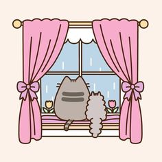 "3,336 Likes, 45 Comments - Pusheen (@pusheen) on Instagram: ""April showers ☔"""