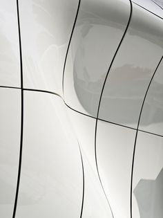 Detail of the Mobile Art Pavilion for Chanel by Zaha Hadid Architects. Photograph by Virgile Simon Bertrand.
