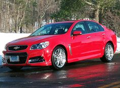 Just In: 2014 Chevrolet SS sedan with a NASCAR silhouette and a Corvette engine - Yahoo Autos