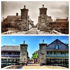 Bringing the Past into the Present - St. Augustine Then & Now