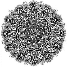 Someone else created this wonderful zentangle... I use zentangles to help me focus my prayer life.