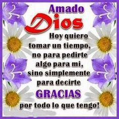 """""""¡HOY SOLO QUIERO DARTE GRACIAS!"""" DEVOCIONAL DIARIO. REFLEXIONES PARA VOS http://reflexionesparavos.blogspot.com/…/hoy-solo-quiero-da… #BuenLunes #40DiasDeAyuno #Reflexiones"""