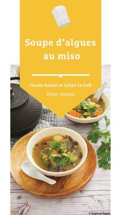 #soupe #algues #miso #terrevivante #proteinesvegetales 20 Min, Eat Healthy
