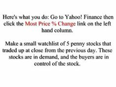 #1 Way to Find Hot Penny Stocks to Watch - http://www.pennystockegghead.onl/uncategorized/1-way-to-find-hot-penny-stocks-to-watch/