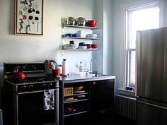 Clever use of Ikea cabinetry