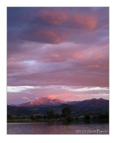 McCall's Lake between Longmont and Lyons Colorado