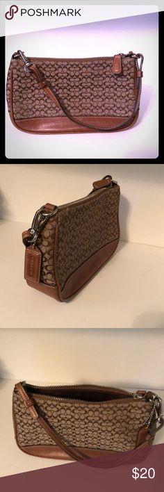 Brown Coach Mini Purse Cute brown Coach purse 1a6102a6c35f3
