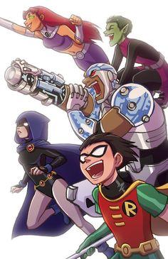 Teen Titans!!!!!