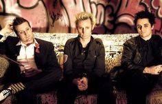 Tre Cool, Mike Dirnt, & Billie Joe