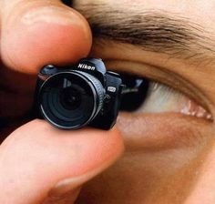 The smallest camera in the world from Nikon !!
