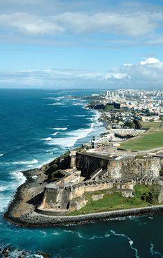 El Morro, San Juan, Puerto Rico  I want to see where I was born!