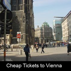 Book cheap flights tickets to Vienna Canada. Visit us to book your tickets right away. Book Cheap Flight Tickets, Cheap Tickets, Lowest Airfare, Cheap Flights, Buy Cheap, Vienna, Austria, Street View, Flight Specials