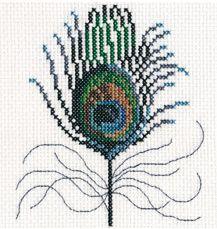 free cross stitch patterns in pdf format peacok feather Tiny Cross Stitch, Free Cross Stitch Charts, Cross Stitch Freebies, Cross Stitch Animals, Cross Stitch Designs, Cross Stitch Patterns, Cross Stitching, Cross Stitch Embroidery, Embroidery Patterns