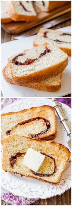 Homemade... so much better than store-bought! This homemade cinnamon swirl bread is our favorite.