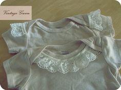 cute and easy embellished onsies