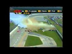 nascar mega crash