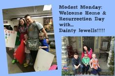 Modest Monday: Homecomings & Resurrection Day with Dainty Jewells - Raising Soldiers 4 Christ