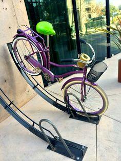 sweet bike. sweet bike rack.