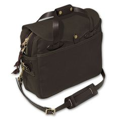Filson Briefcase Computer Bag - if I stalk it long enough it will show up in the mail one day, right?