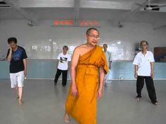 Ajahn Suthep teaching Qi Gong (without music) - YouTube