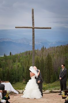 Ashley & Matt - CAFIERO photography, columbine point, colorado wedding photography, colorado mountain views wedding
