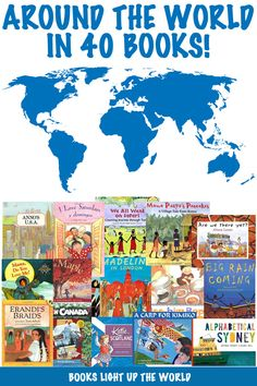 40 fabulous picture books perfect for taking your child on a visual, story journey all around the world!