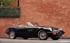 1974 Jaguar E-Type V-12 Commemorative Edition Convertible