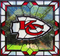 stained glass kc chiefs - Google Search