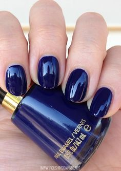 Revlon Urban - click thru to see the rest of my favorite blue polishes from 2013!