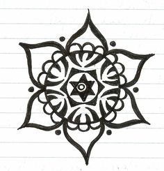 how to draw easy mandala flower - Yahoo Image Search Results