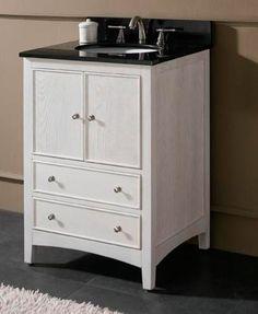 "Small Bathroom Sink Vanity ikea hackers: 18"" bathroom vanity: great for small half-bath"