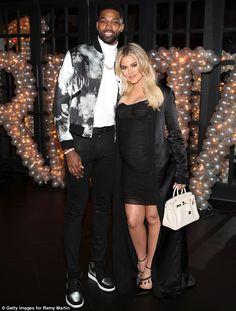 Kylie Jenner Shows Off Post-Baby Body at Tristan Thompson's Birthday Party: Pics Kim Kardashian, Familia Kardashian, Khloe Kardashian And Tristan, Kardashian Family, Tristan Thompson And Khloe, Khloe And Tristan, Celebrity Bodies, Celebrity Scandal, Celebrity Couples