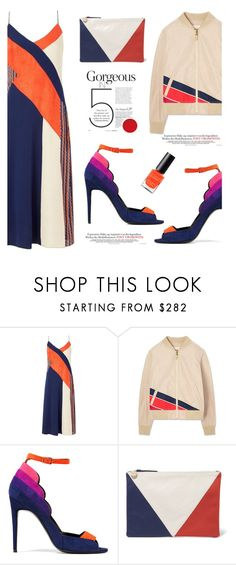 """""""Light Topping: Summer Bomber Jackets'"""" by dianefantasy ❤ liked on Polyvore featuring Diane Von Furstenberg, Tory Burch, Pierre Hardy, Clare V., Max Factor, polyvorecommunity, bomberjackets and polyvoreeditorial"""
